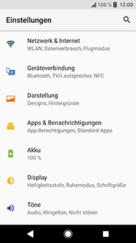 Sony Xperia XA2 Ultra - Internet - Apn-Einstellungen - 1 / 1