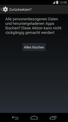 LG D821 Google Nexus 5 - Fehlerbehebung - Handy zurücksetzen - Schritt 9