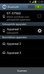 Samsung S7560 Galaxy Trend - Bluetooth - Koppelen met ander apparaat - Stap 8