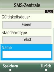 Samsung F480-TouchWiz - SMS - Manuelle Konfiguration - Schritt 10