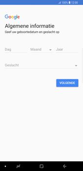 Samsung Galaxy S9 Plus - Applicaties - Account instellen - Stap 6