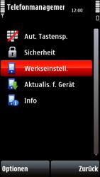 Nokia 5800 Xpress Music - Fehlerbehebung - Handy zurücksetzen - 8 / 11