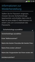 HTC Desire 601 - Apps - Konto anlegen und einrichten - 13 / 24