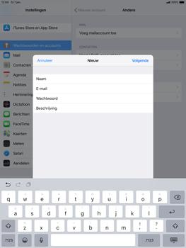 Apple ipad-air-10-5-inch-2019-model-a2123 - E-mail - Handmatig instellen - Stap 10