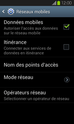 Samsung Galaxy S2 - Internet et connexion - Désactiver la connexion Internet - Étape 6