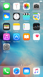 Apple iPhone 6 iOS 9 - Solution du problème - E-mail et messagerie - Étape 1
