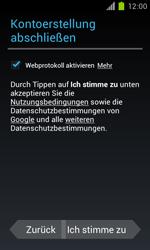 Samsung Galaxy S II - Apps - Einrichten des App Stores - Schritt 11