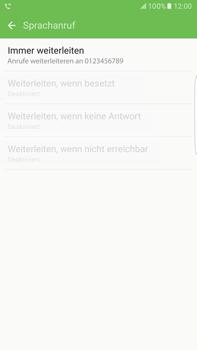 Samsung Galaxy S6 edge+ - Anrufe - Rufumleitungen setzen und löschen - 12 / 13