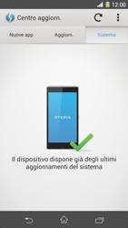 Sony Xperia Z1 - Software - Installazione degli aggiornamenti software - Fase 8