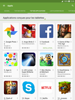 Samsung Galaxy Tab A - Applications - Télécharger une application - Étape 8
