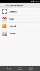 Huawei Ascend P7 - E-mail - handmatig instellen - Stap 5