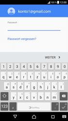 Sony F3111 Xperia XA - E-Mail - Konto einrichten (gmail) - Schritt 13