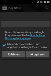 Sony Xperia Miro - Apps - Konto anlegen und einrichten - Schritt 18