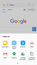Samsung Galaxy A5 (2016) - Android Nougat - Internet und Datenroaming - Verwenden des Internets - Schritt 21