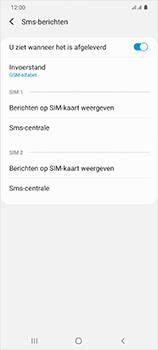 Samsung Galaxy S20 Ultra 5G Dual SIM eSIM SM-G988B - SMS - Handmatig instellen - Stap 10