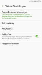 Samsung Galaxy A3 (2017) - Anrufe - Rufumleitungen setzen und löschen - Schritt 7