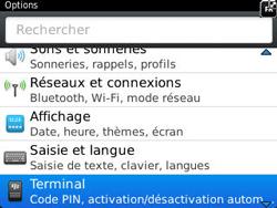 BlackBerry 9320 Curve - BlackBerry activation - BlackBerry ID activation - Étape 4