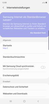 Samsung Galaxy Note 10 - Internet und Datenroaming - Manuelle Konfiguration - Schritt 26
