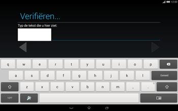 Sony Xperia Tablet Z2 4G (SGP521) - Applicaties - Account aanmaken - Stap 18