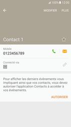 Samsung Galaxy S7 - Contact, Appels, SMS/MMS - Ajouter un contact - Étape 8