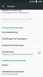 HTC One A9s - Anrufe - Rufumleitungen setzen und löschen - Schritt 5
