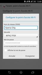 Sony Xperia E4g - Internet et connexion - Partager votre connexion en Wi-Fi - Étape 8