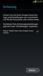 Samsung I9300 Galaxy S III - Apps - Konto anlegen und einrichten - Schritt 14