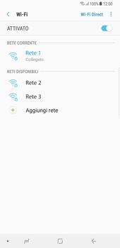 Samsung Galaxy S8 Plus - Android Oreo - WiFi - Configurazione WiFi - Fase 9