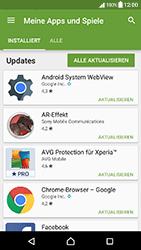 Sony Xperia X Compact - Apps - Nach App-Updates suchen - Schritt 6
