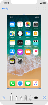 Apple iPhone X - iOS 11 - Bildschirmfotos erstellen und sofort bearbeiten - 5 / 8