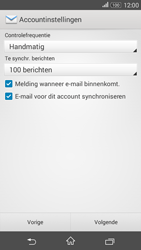 Sony Xperia E4g (E2003) - E-mail - Account instellen (POP3 zonder SMTP-verificatie) - Stap 14