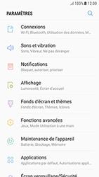 Samsung Galaxy J3 (2017) - Internet et roaming de données - Comment vérifier que la connexion des données est activée - Étape 4