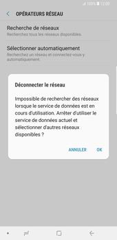 Samsung Galaxy S9 Plus - Réseau - Sélection manuelle du réseau - Étape 8