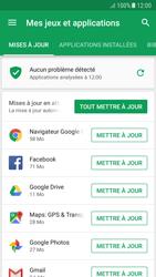 Samsung Galaxy A5 (2017) - Android Nougat - Applications - Comment vérifier les mises à jour des applications - Étape 7