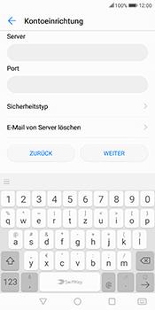 Huawei Mate 10 Lite - E-Mail - Konto einrichten - Schritt 12