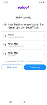 Samsung Galaxy S20 5G - E-Mail - 032b. Email wizard - Yahoo - Schritt 11