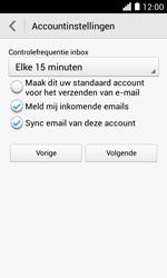 Huawei Ascend Y330 - E-mail - e-mail instellen: POP3 - Stap 19