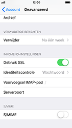 Apple iphone-5s-ios-12 - E-mail - Account instellen (IMAP zonder SMTP-verificatie) - Stap 24