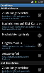 Samsung I9000 Galaxy S - SMS - Manuelle Konfiguration - Schritt 4