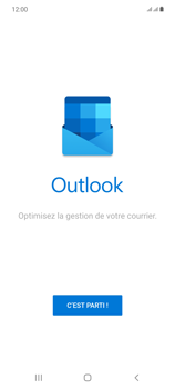 Samsung Galaxy Note20 - E-mails - Ajouter ou modifier votre compte Outlook - Étape 5