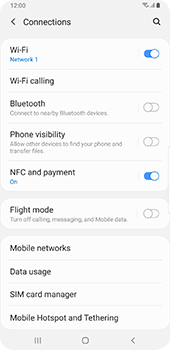 Samsung Galaxy S9 Plus - Android Pie - WiFi - Enable WiFi Calling - Step 6