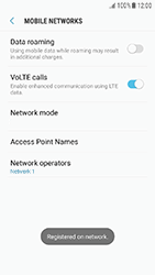 Samsung Galaxy J3 (2017) - Network - Manual network selection - Step 11