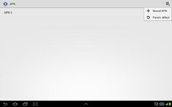 Samsung Galaxy Tab 2 10.1 - Internet et roaming de données - Configuration manuelle - Étape 9