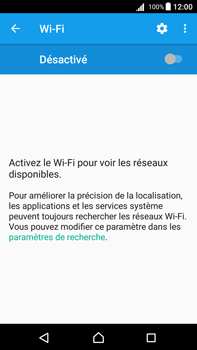 Sony Xperia Z5 Premium (E6853) - Android Nougat - Wi-Fi - Accéder au réseau Wi-Fi - Étape 5