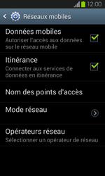 Samsung Galaxy S2 - Aller plus loin - Désactiver les données à l'étranger - Étape 6