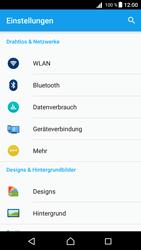 Sony Xperia Z5 Compact (E5823) - Android Nougat - Ausland - Im Ausland surfen – Datenroaming - Schritt 6