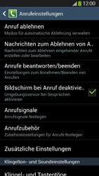 Samsung Galaxy S4 Active - Anrufe - Rufumleitungen setzen und löschen - 6 / 12