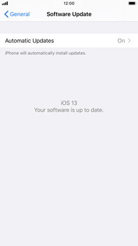 Apple iPhone 6s Plus - iOS 13 - Software - Installing software updates - Step 6