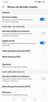 Huawei Y7 (2019) - Réseau - utilisation à l'étranger - Étape 8
