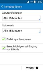 Samsung G388F Galaxy Xcover 3 - E-Mail - Konto einrichten - Schritt 16